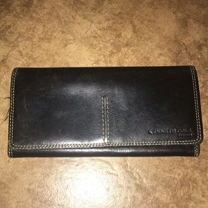 Kenneth Cole Leather Wallet